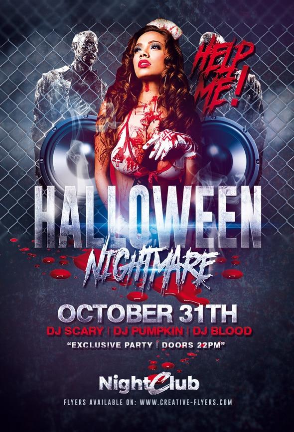 Halloween flyer Templates 11