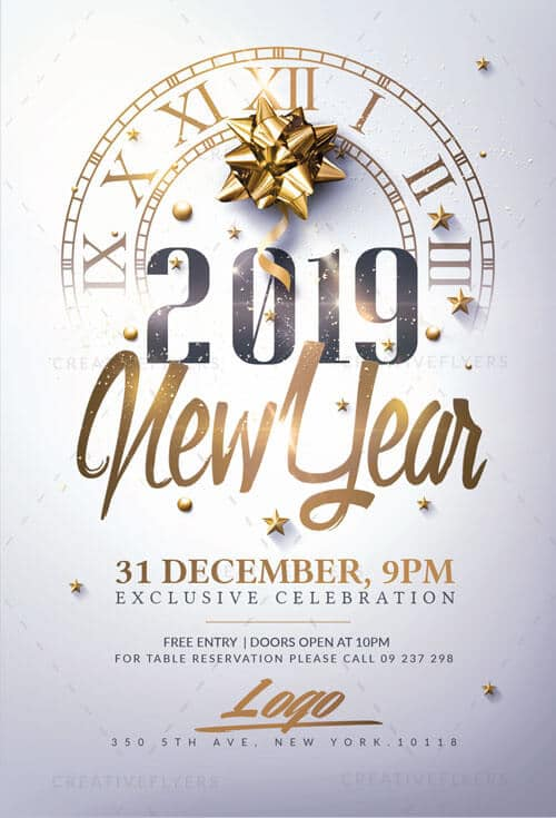 New Year Flyers