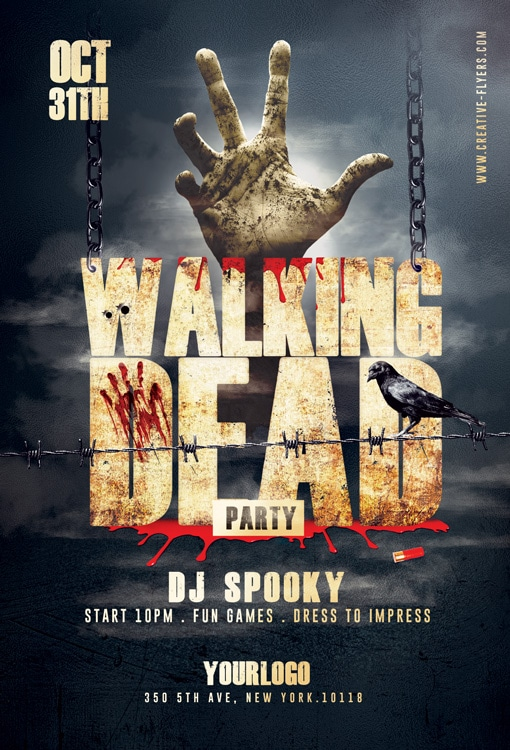 Walking Dead Flyer
