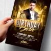 Birthday Flyer Psd Template