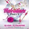 Pink & black Valentines Day flyer