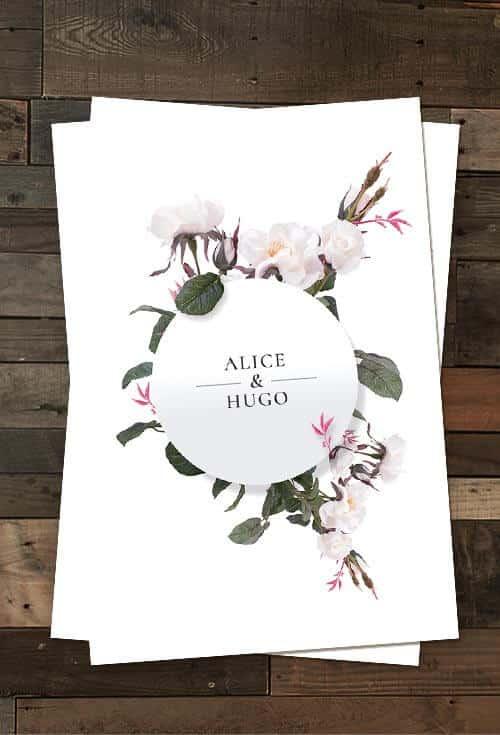 Wedding Cards Flyer Templates Psd