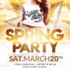 Spring Party Flyer Template