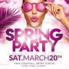Spring Party Flyer Templates Psd
