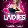 Ladies Night Flyer Templates Psd