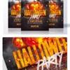 Halloween Party flyer Psd