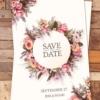 Wedding Invitation psd Template