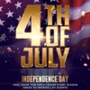 Realistic 4th of July Flyer