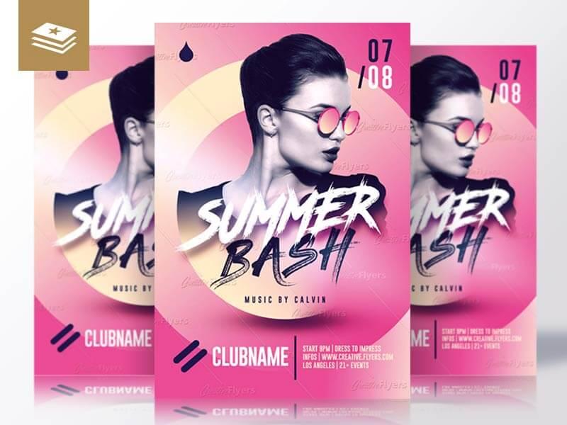 Summer Bash Psd