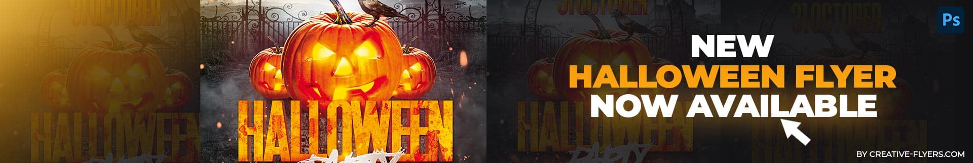 Halloween flyer design