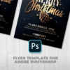 Invitation template for christmas