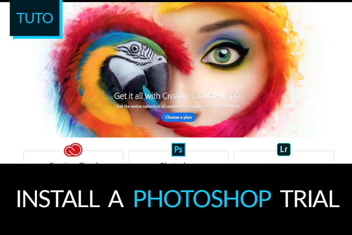 Photoshop free trial tutorial