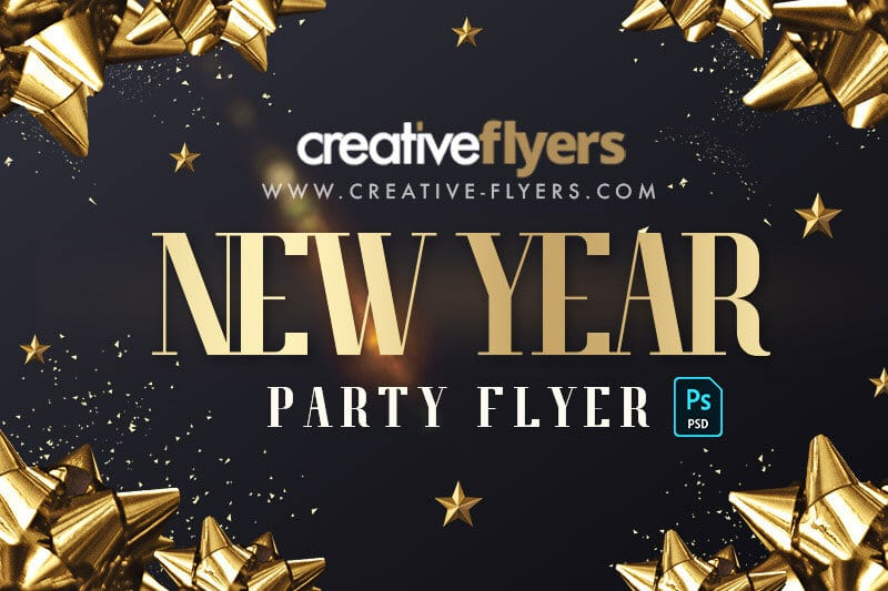 10 New year flyer templates
