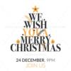 Merry Christmas Invitations
