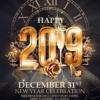 Elegant New year flyer template
