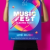 music festival posters photoshop