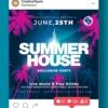 summer house flyer