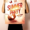 summer flyer and poster