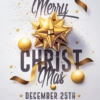 Classy Christmas Flyer Template