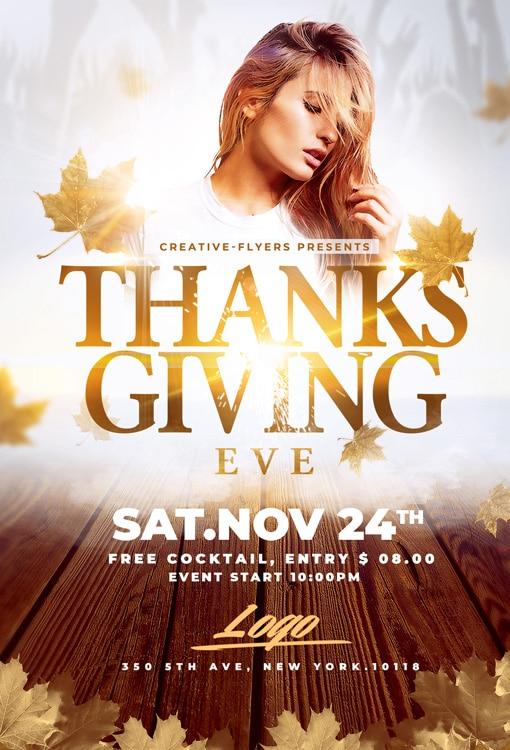 Thanksgiving Eve Flyer