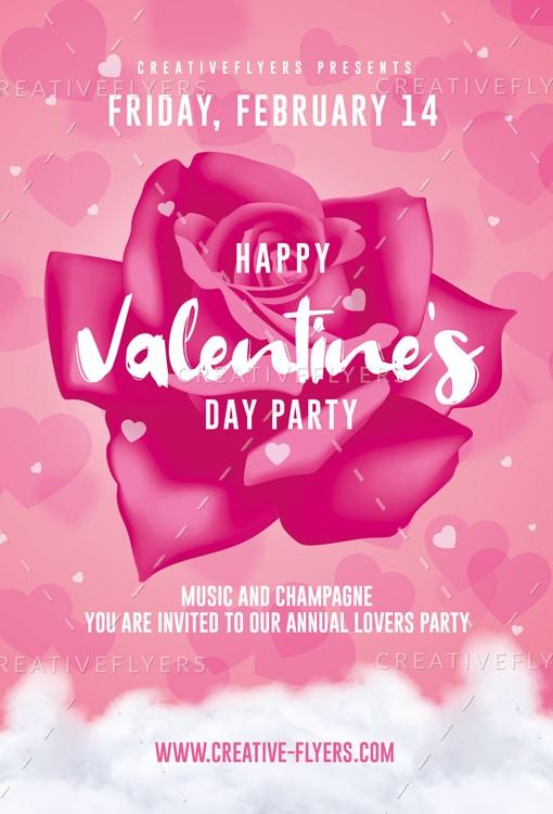 Happy Valentines Day Invitation