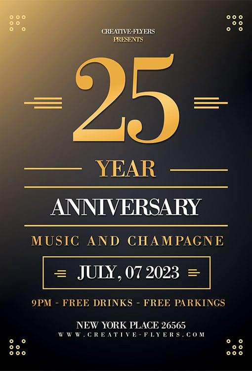 Free birthday Flyer invitation