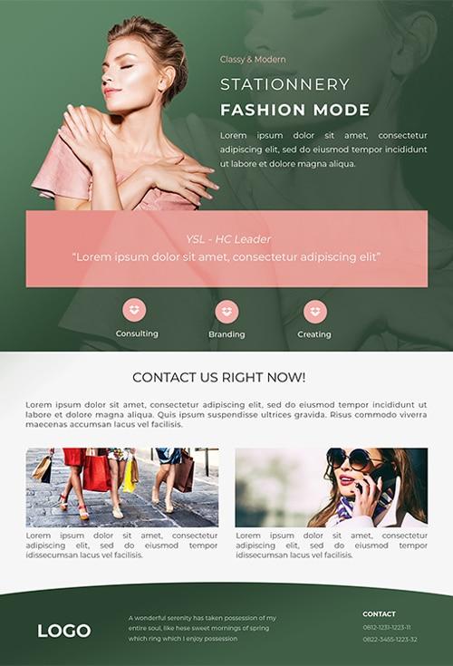 Fashion stationery Flyer