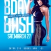 Photoshop Birthday Bash Flyer