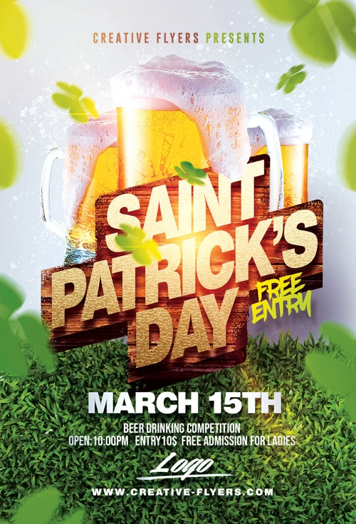 St Patrick's Day Beer Party