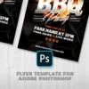 BBQ Flyer Psd Template