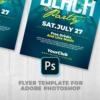 Beach Party Flyer Photoshop
