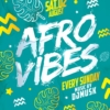 Afro vibes flyer