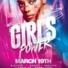Girls Power Flyer Psd