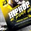 Hip Hop Party Flyer Psd