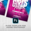 girls Power Party flyer