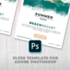 Summer Resort Promotional Flyer