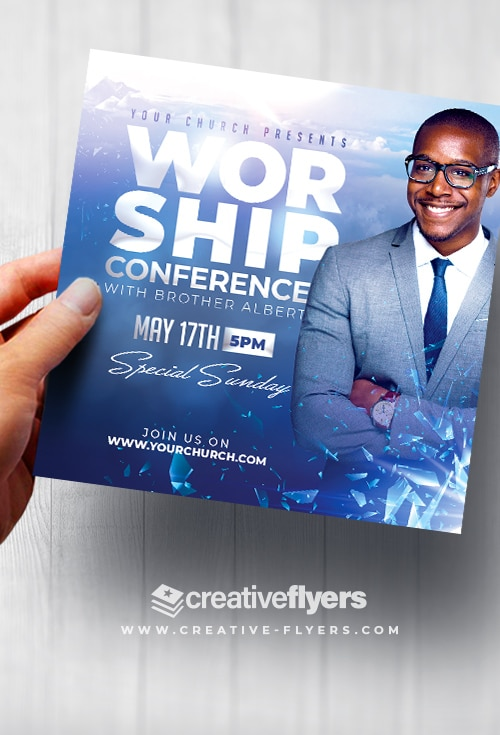 Worship Conference Flyer