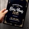 Art Deco New Year Flyer
