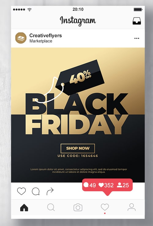 Black friday concept