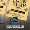 Elegant New Year Flyer