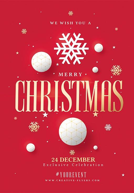 Poster for Christmas