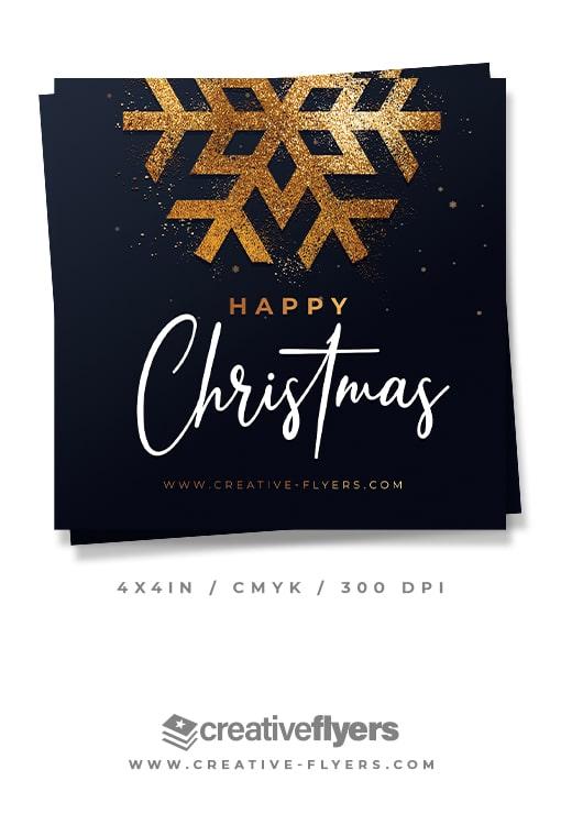 christmas Invitations Template