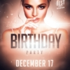 Flyer Template for Birthday