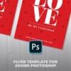 Red Valentine Card