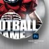 American Football Game Flyer