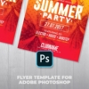 Summer Party Psd Flyer