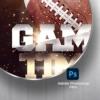 football Psd Flyer Template