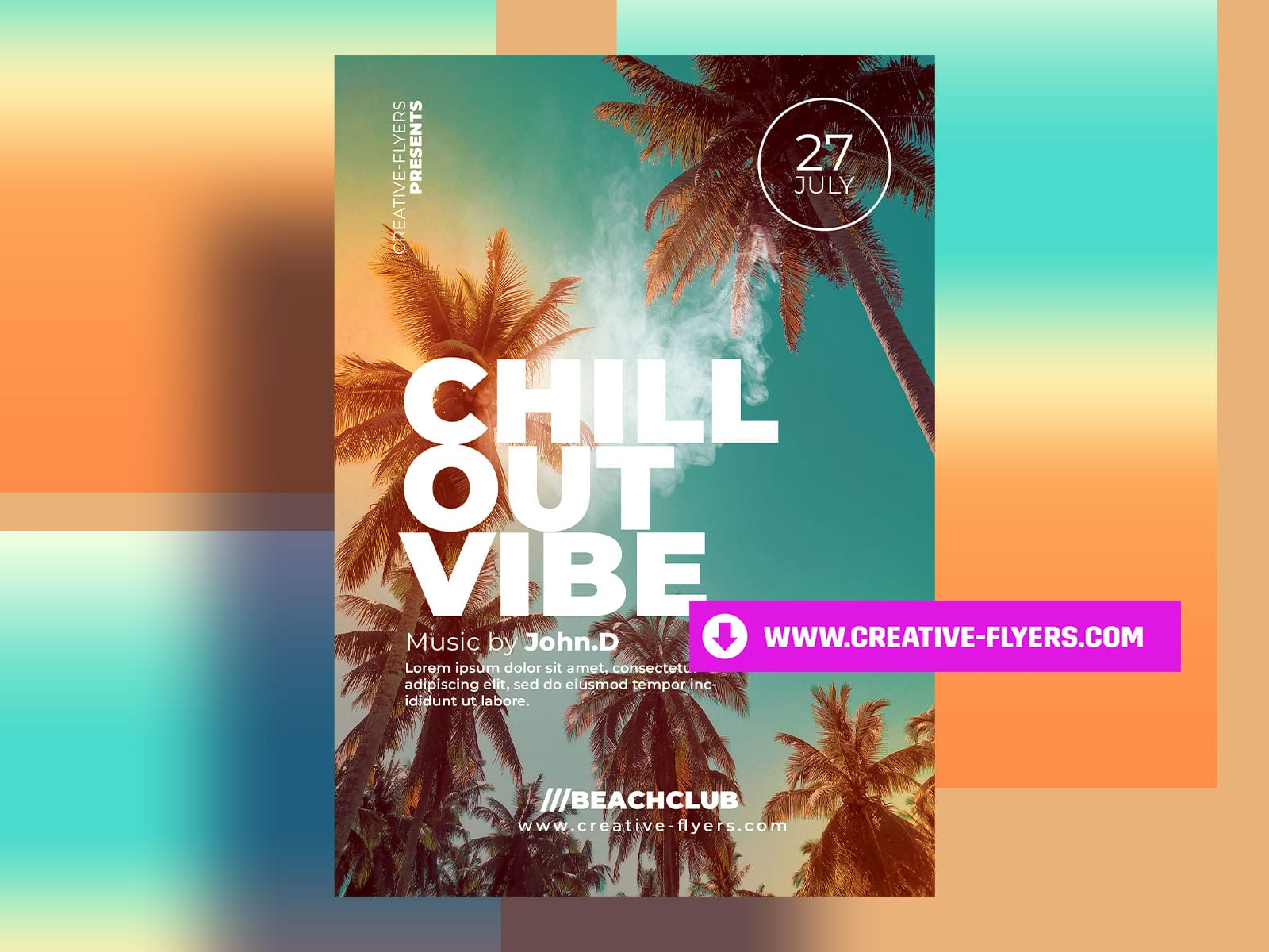 Chillout Party Flyer Template