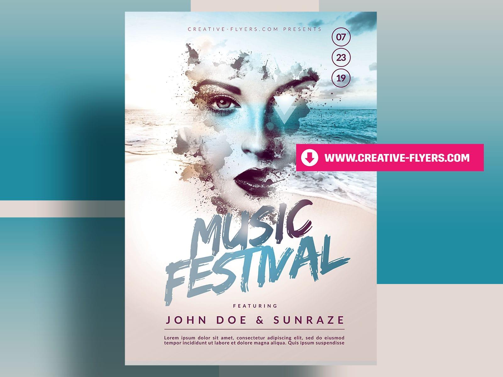 Creative Summer Poster