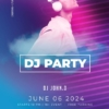 Free Music Dj Flyer Template